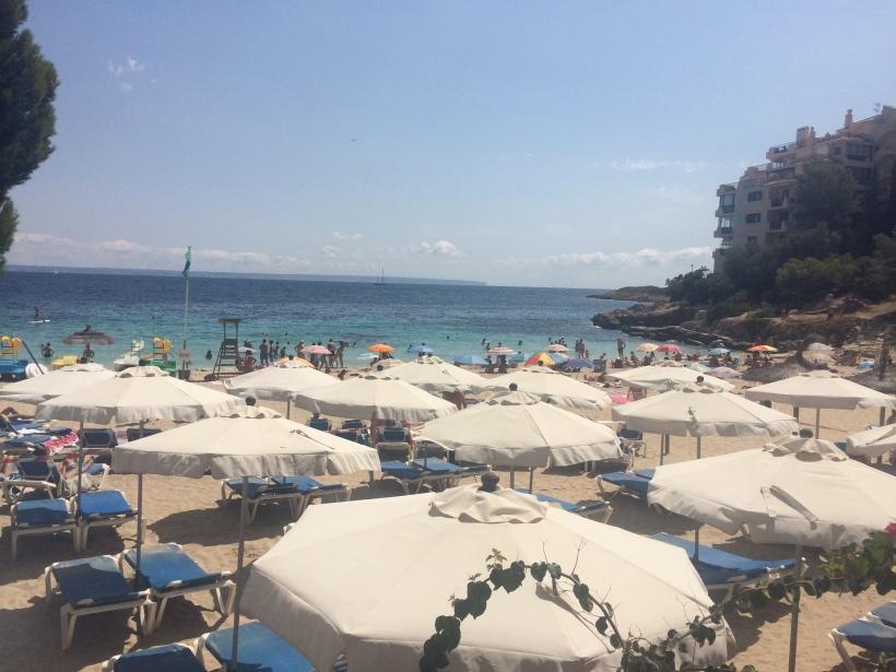 Illetas beach Majorca