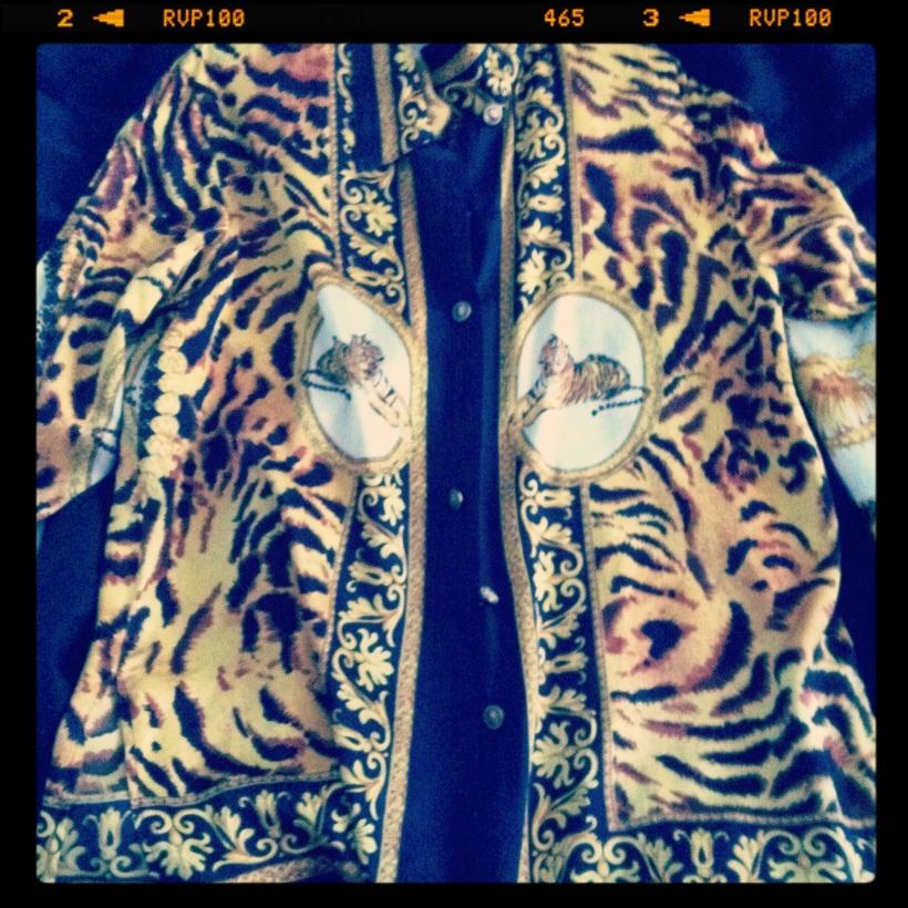 Sian Julian Vintage silk blouse