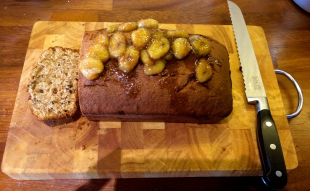 Sian Julian - Mary Berry's Banana loaf with topping