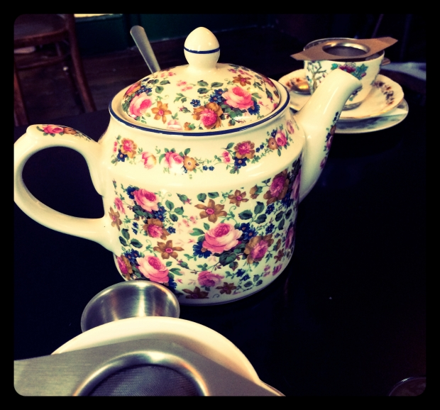 Teapot at Soho's Secret Tea Room